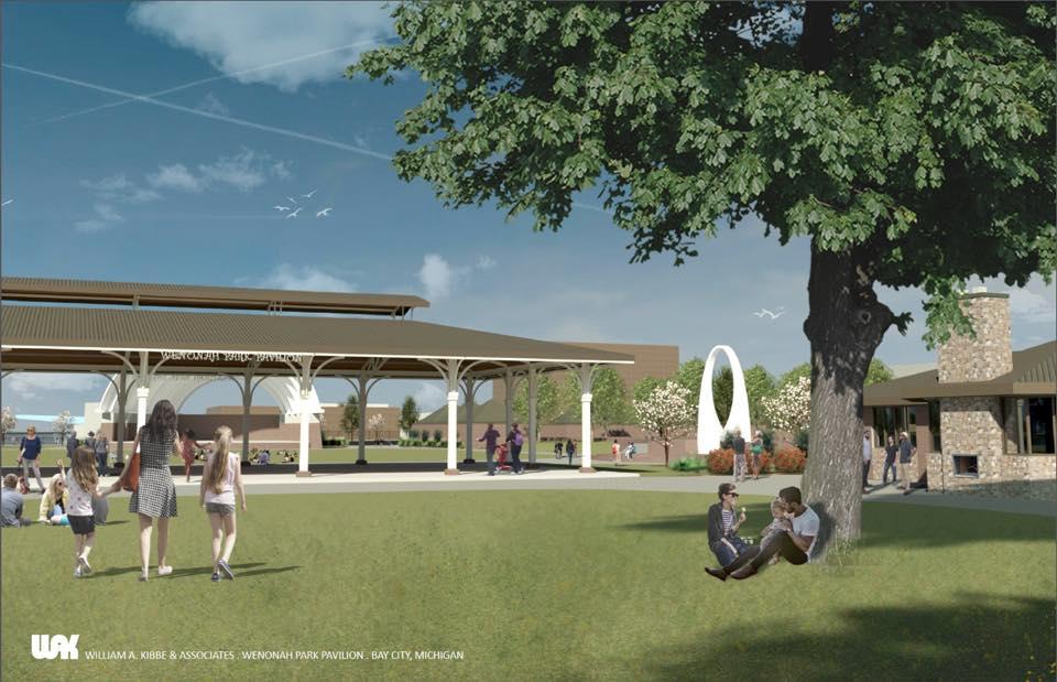 Project: Wenonah Park Pavilion