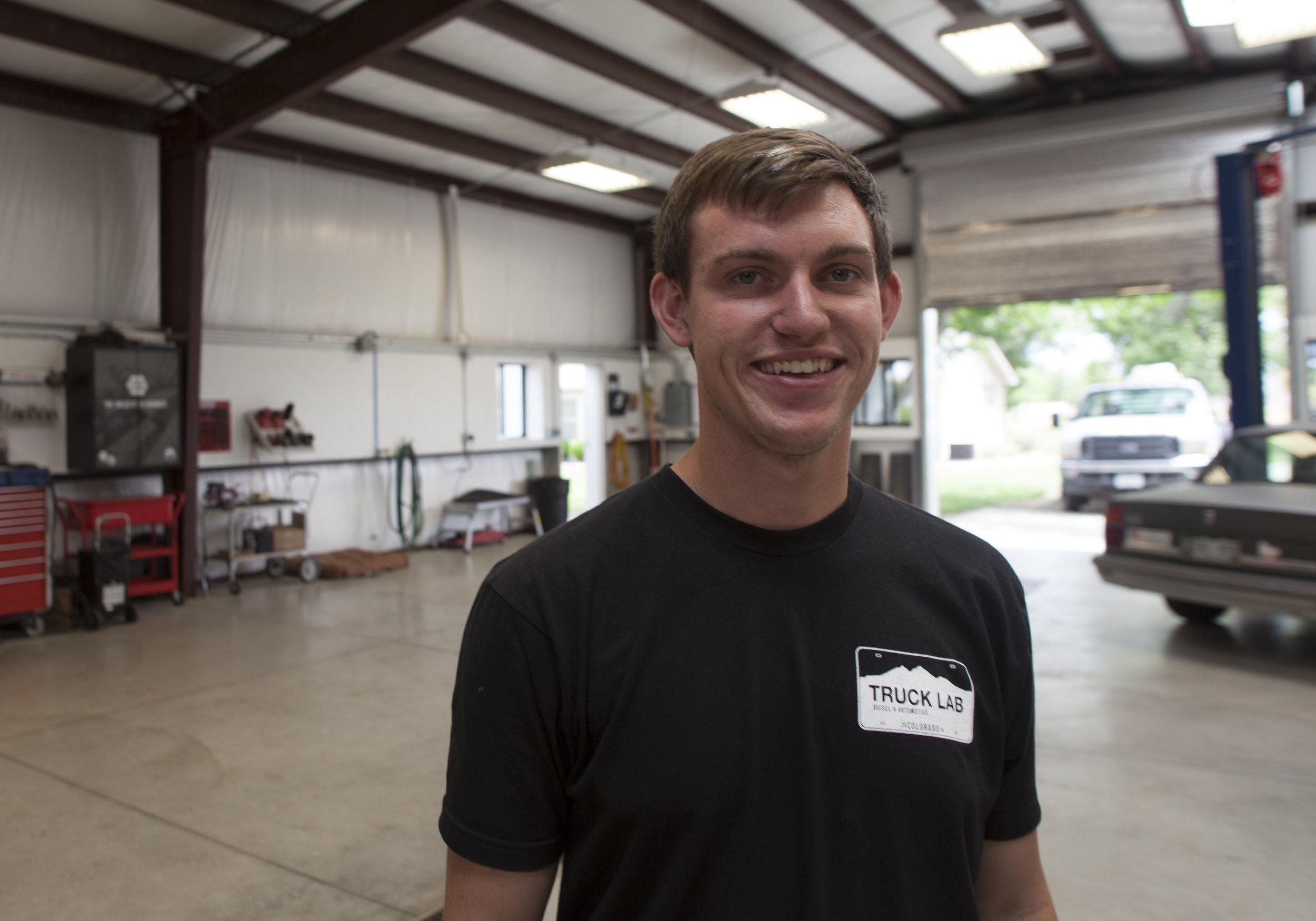 Peter - Truck Lab Intern