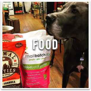 Super high quality dog food at Dogville San Anselmo in Marin County
