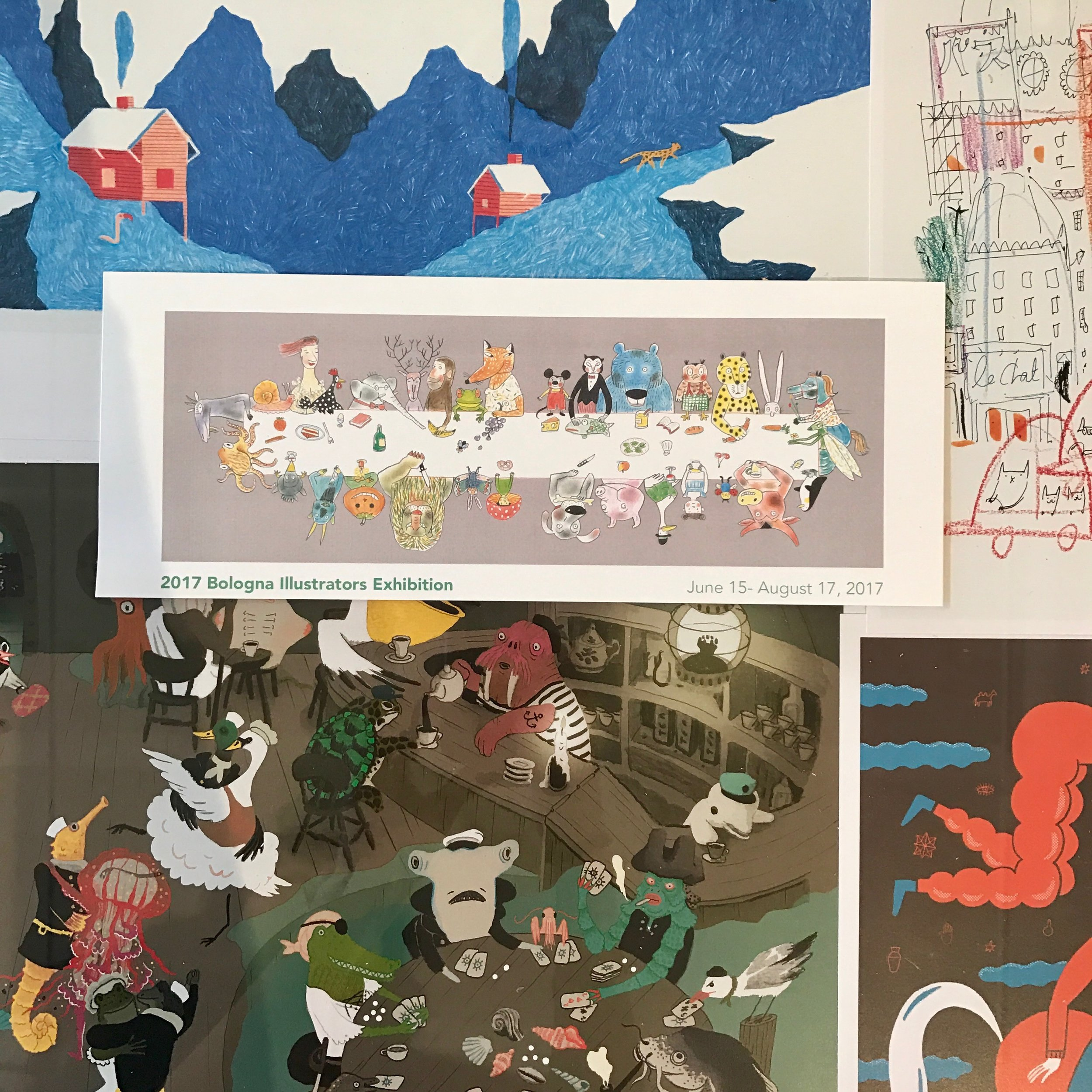 Bologna Illustrators Exhibition -