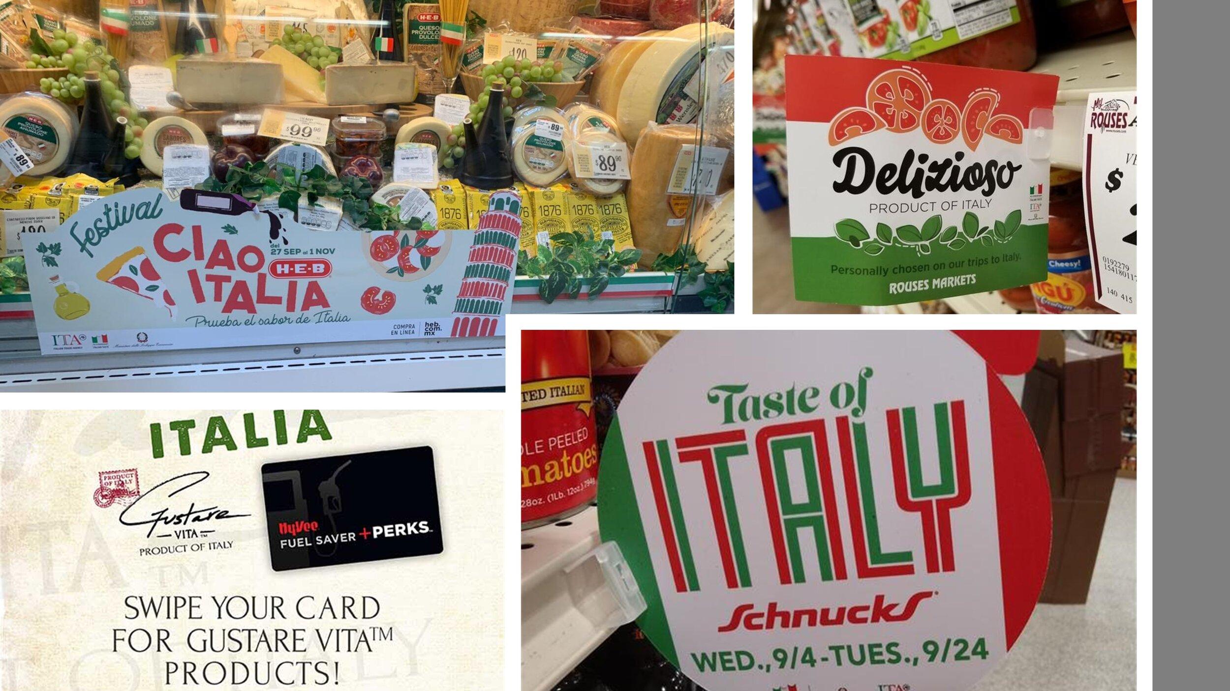 THE EXTRAORDINARY ITALIAN TASTE PROMOTIONS -
