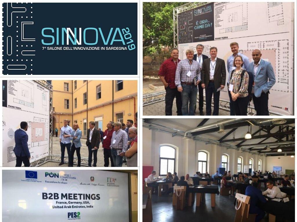 SINNOVA 2019 - Cagliari, Sardinia, Italy -
