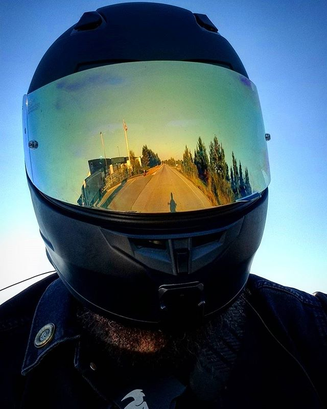 Reflection, Roads, and Redemption. ❤️🏍️✌️