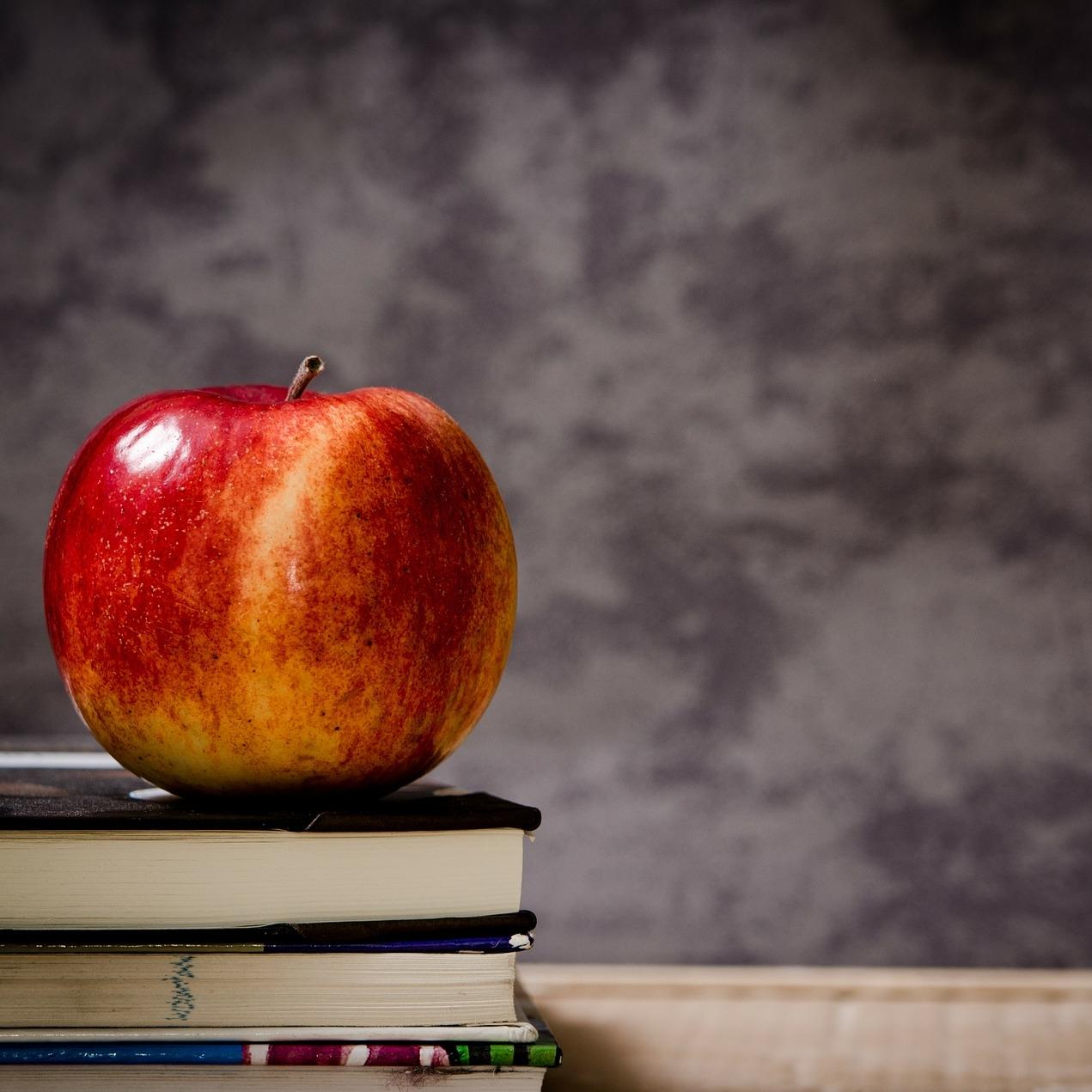 apple on books.jpg