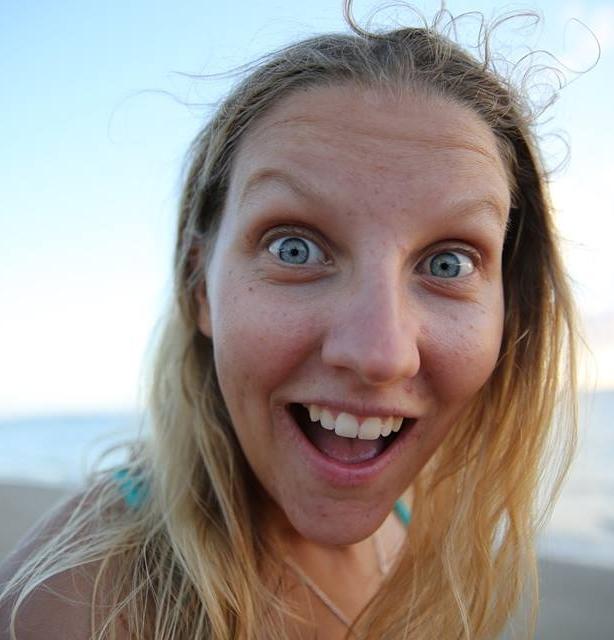 Annie Goodenough  public liaison/shark spotter