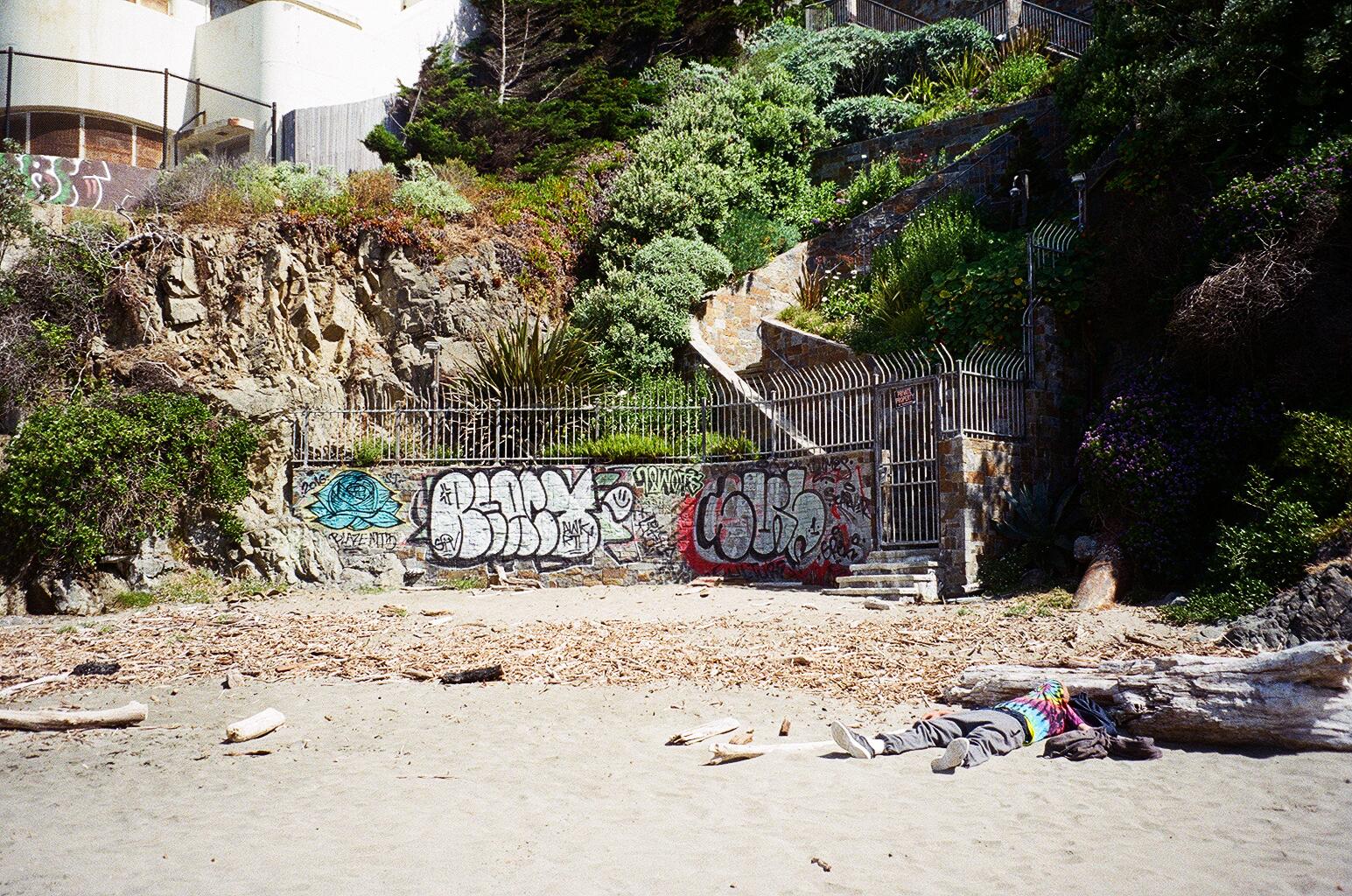 """Tie-Died"" | Baker Beach // 7.7.17"