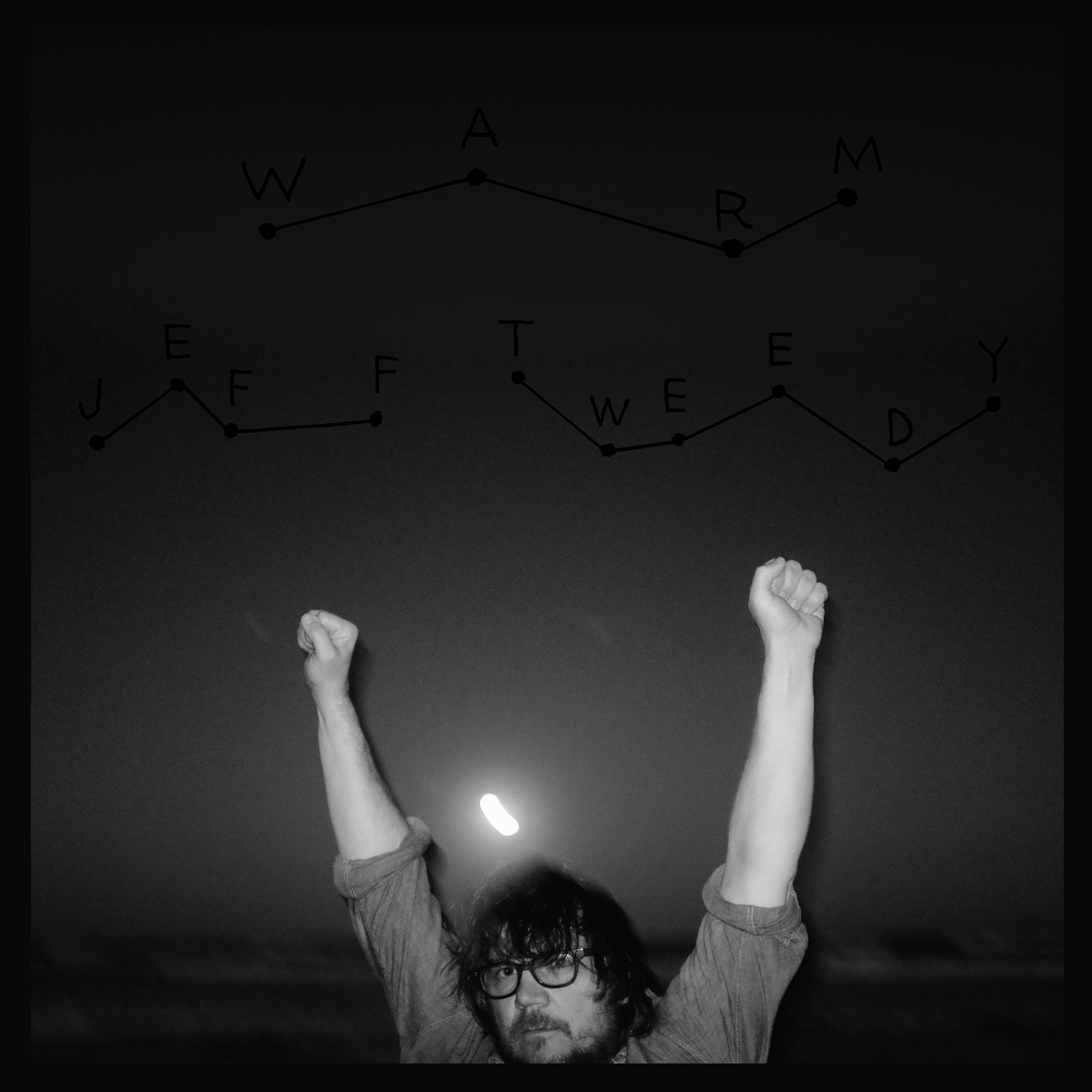"The cover of Jeff Tweedy's latest record ""WARM"""