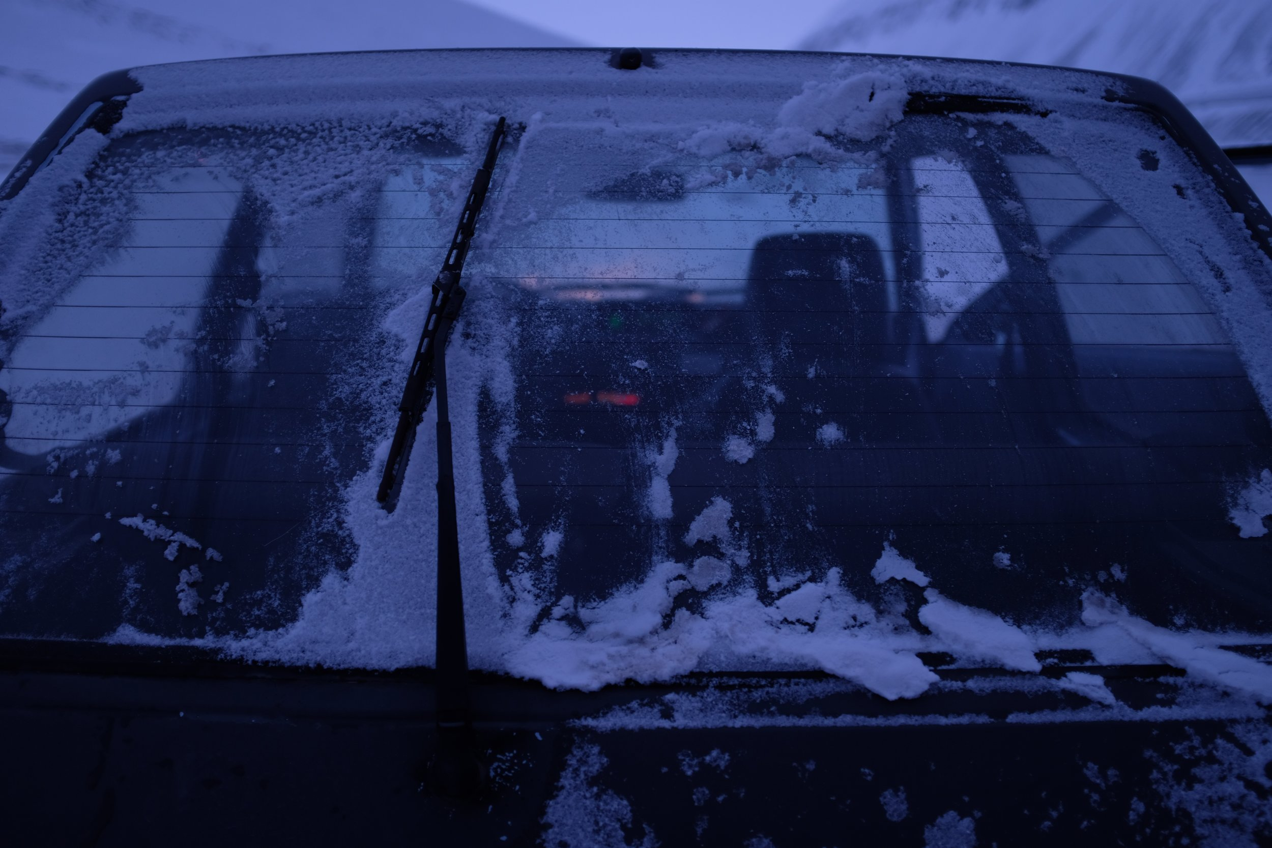 An Ode to a $200 Car - A photo series of the Toyota Starlet that carried us through Longyearbyen