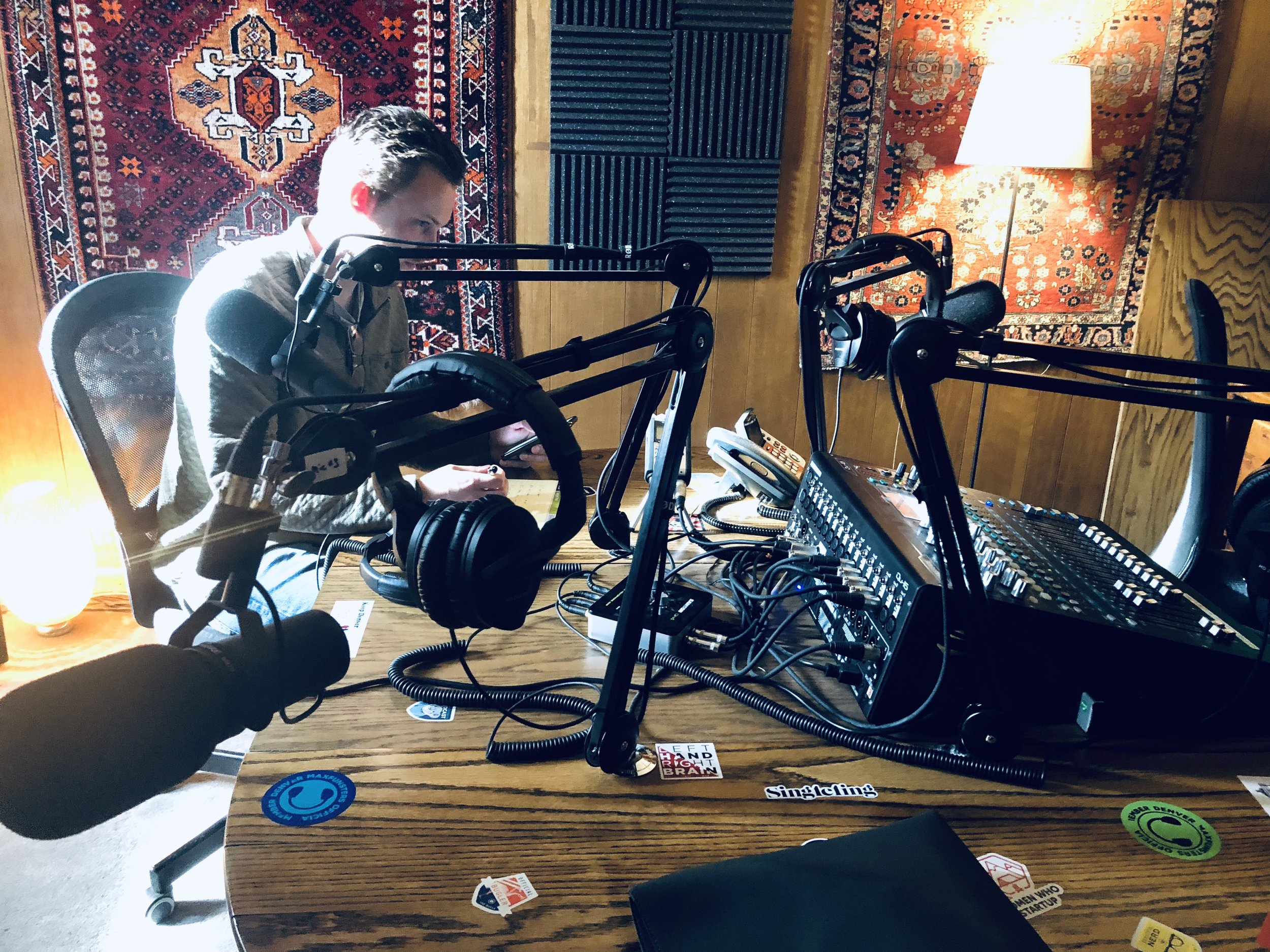 House of Pod, Podcasting Studio in Denver Co.