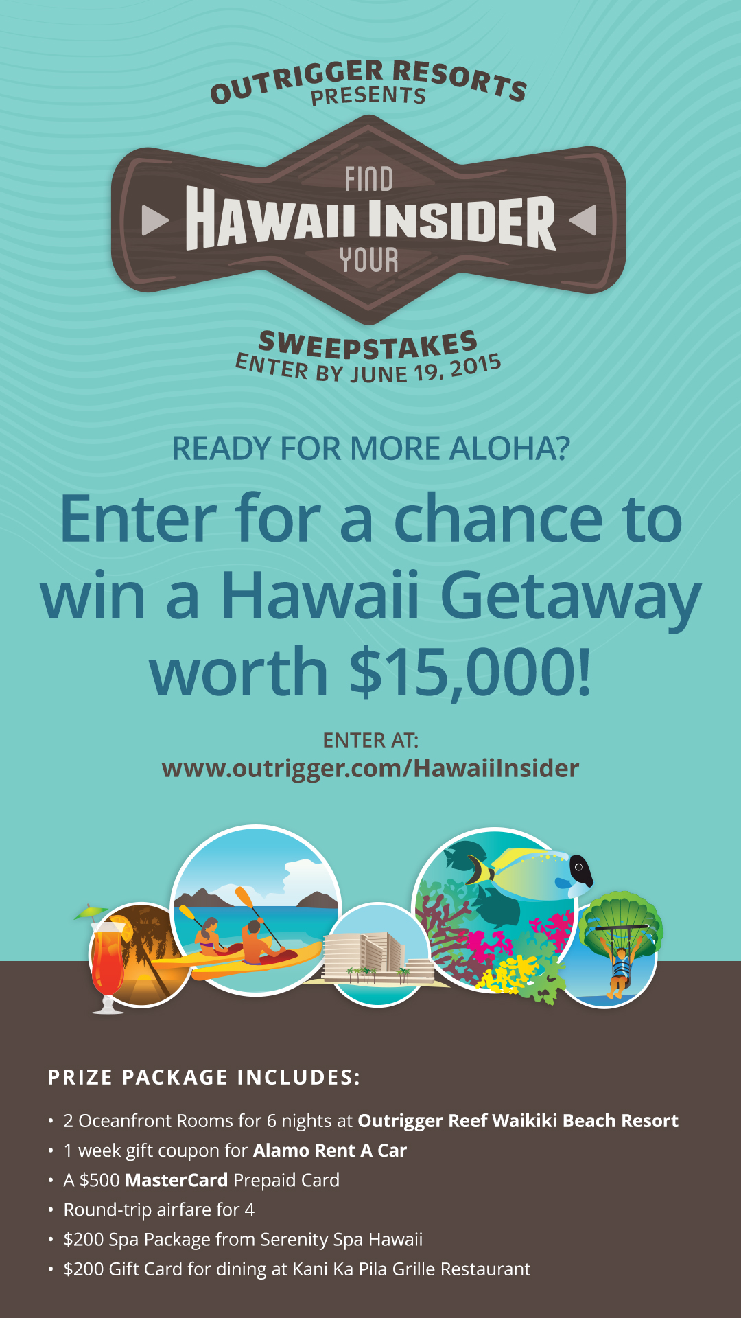 Hawaii Insider Sweepstakes On Property Promo