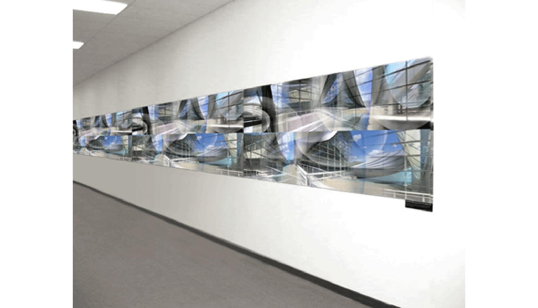 David L. Lawrence Convention Center , Digital print on adhesive vinyl, 2008, 60 x 5' (installation shot)