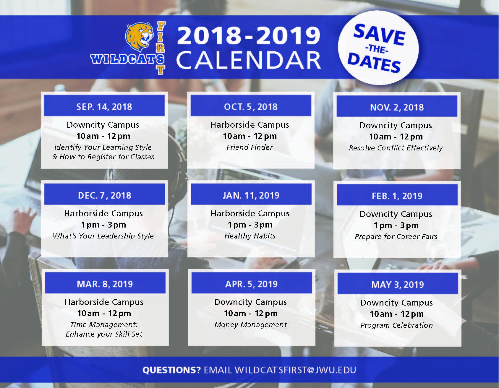 Wildcats First (18-19 Calendar).jpg