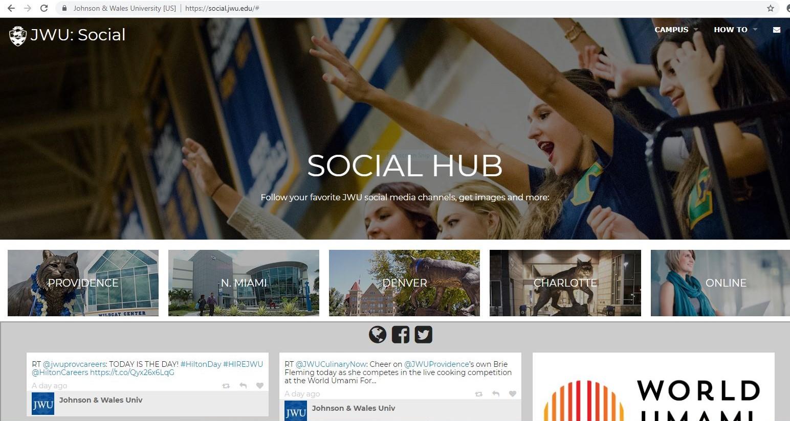 Social Hub screen shot.JPG
