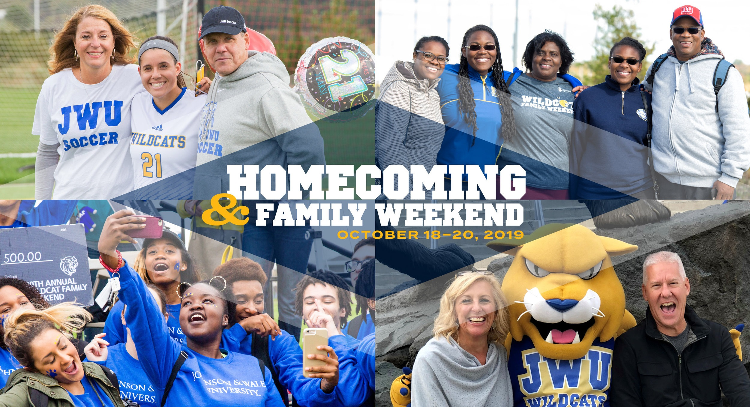 Homecoming & Family Weekend    registration is live. Check out the full schedule of activities and events online.