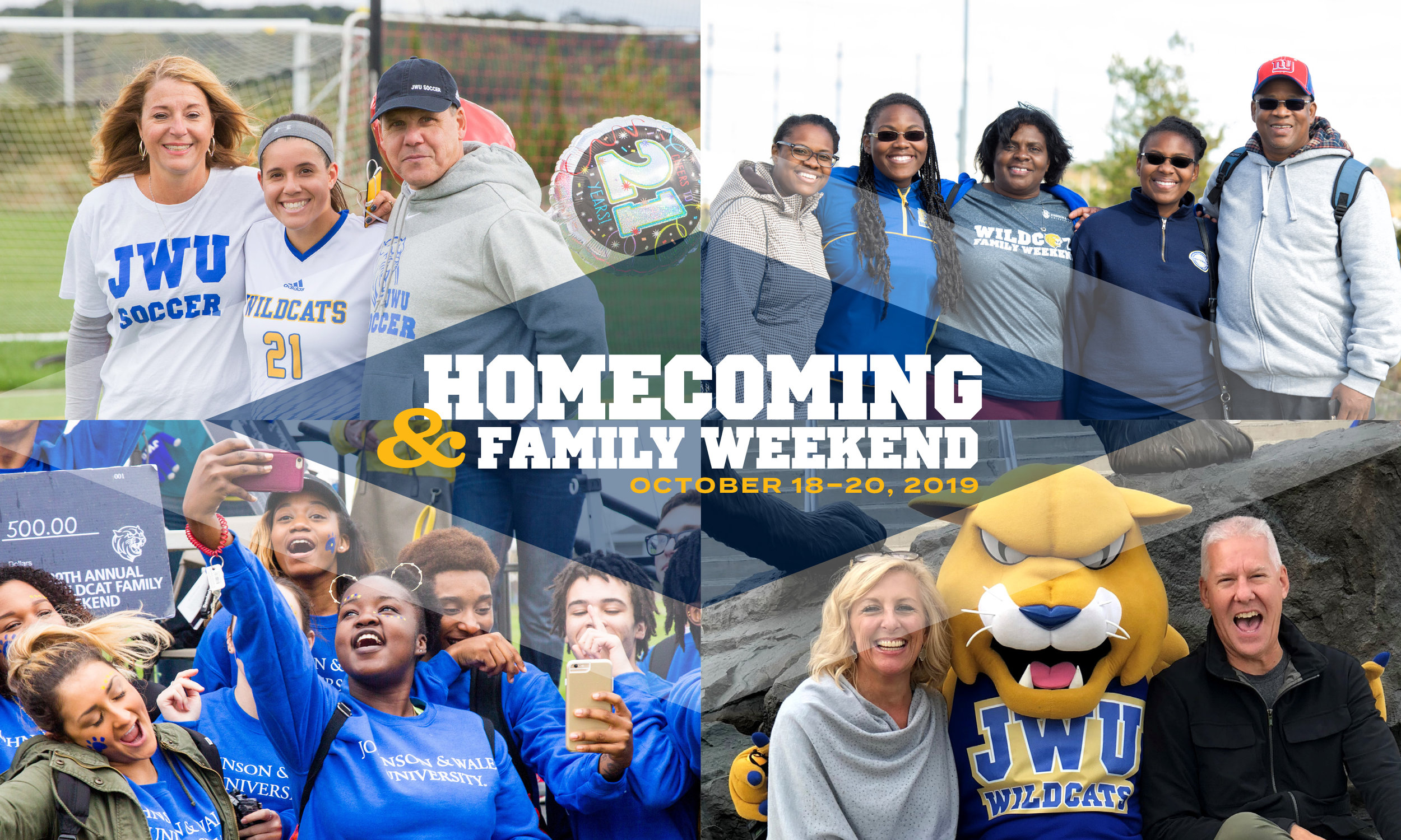 Homecoming & Family Weekend    registration is live. Check out the full schedule of activities and events online. Early bird pricing available now through September 30.