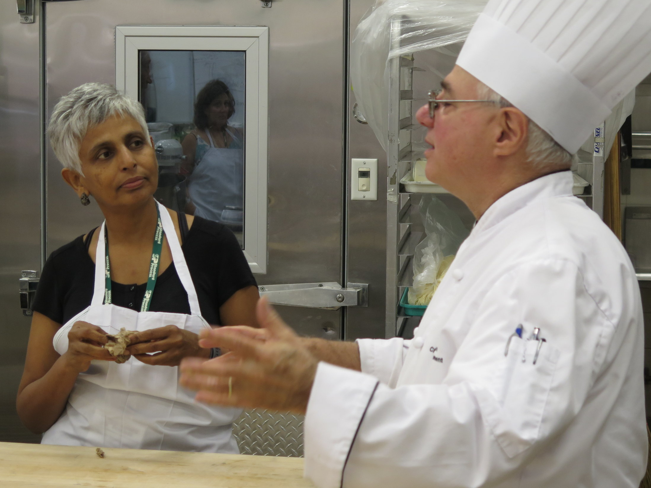 Sarah Shahab, MD and Chef  Peter Reinhart
