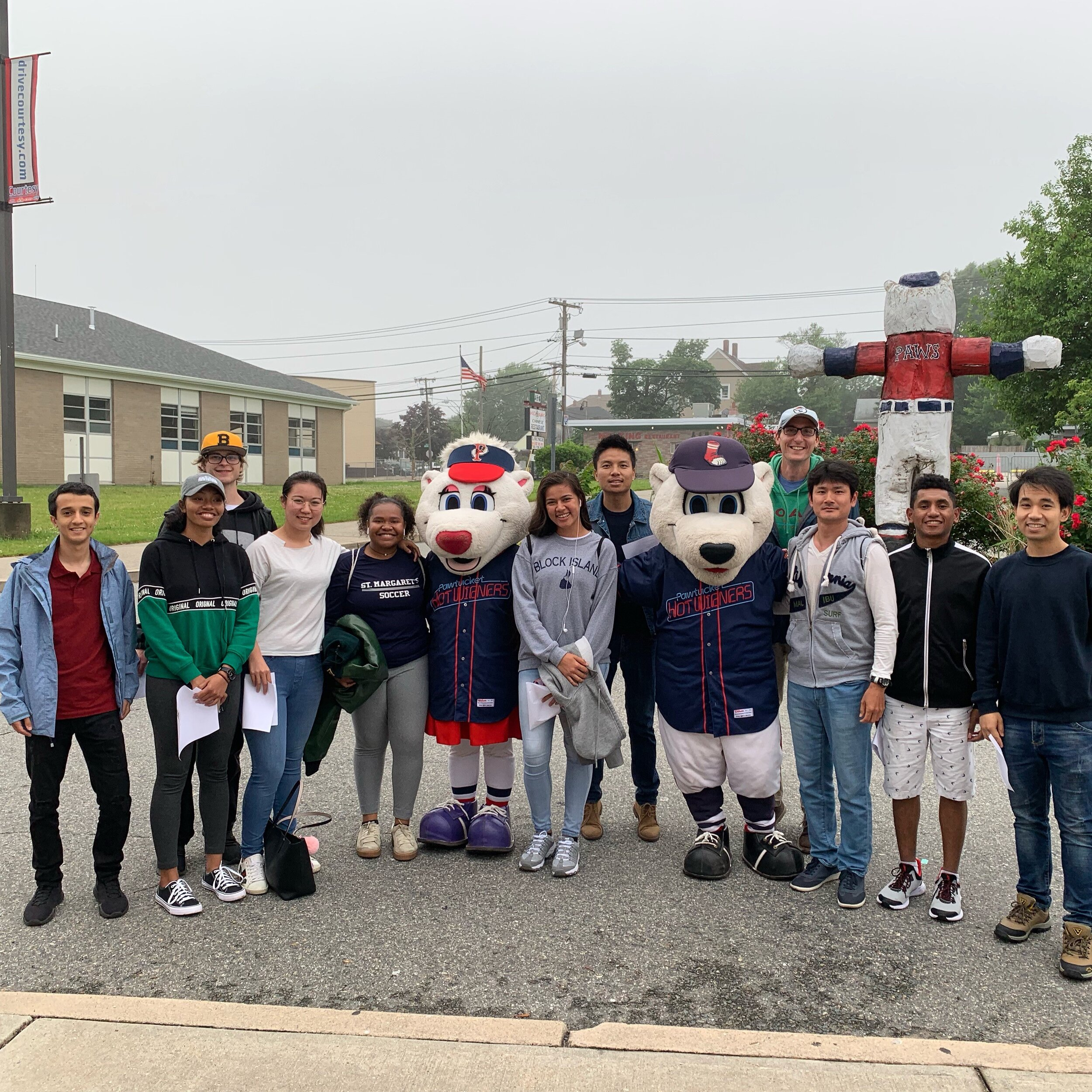 Copy of English language studies and cultural immersion program at the PawSox