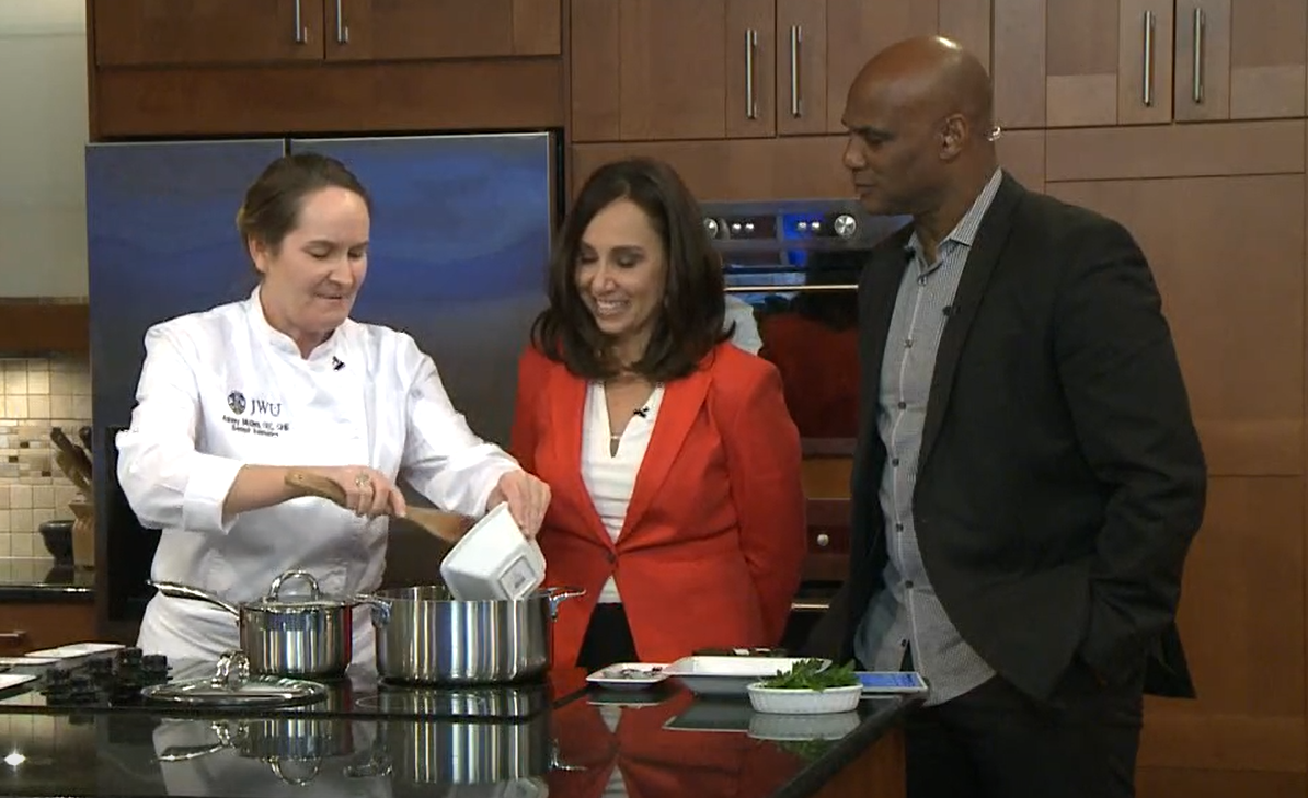 Charlotte Today with Chef Ashley McGee