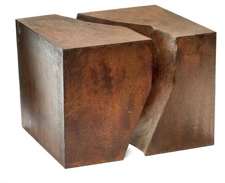 Skulpturer i to dele. 1970- 2002.