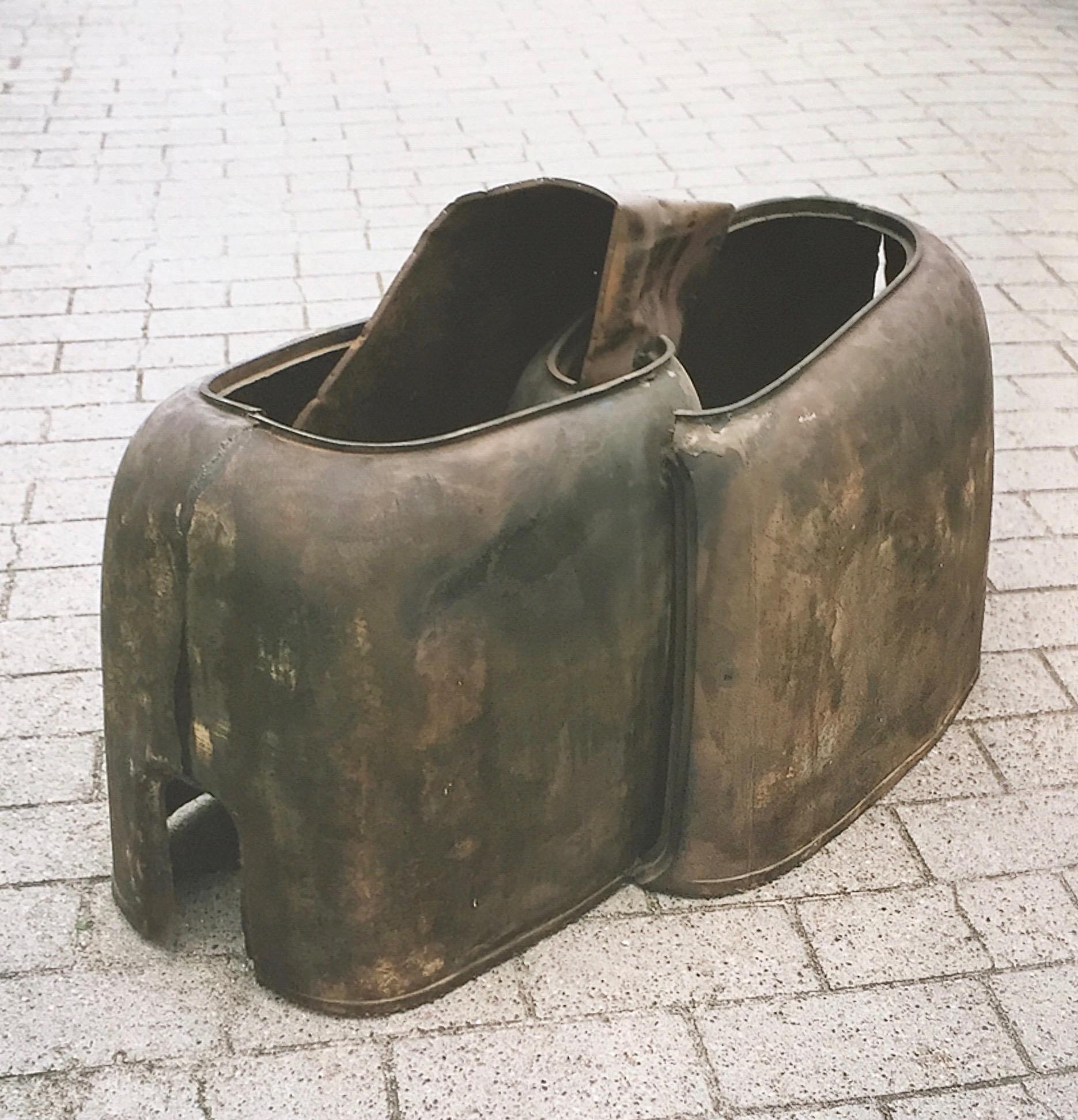 Skrotskulptur, 1964. Tilhører Heart, Kunstmuseet i Herning.