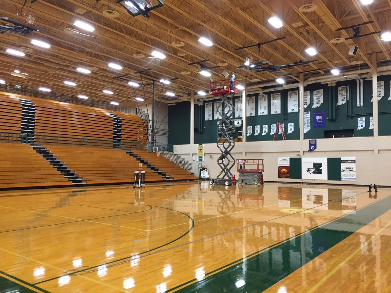 Zionsville Highschool Gymnasium - Zionsville, IN