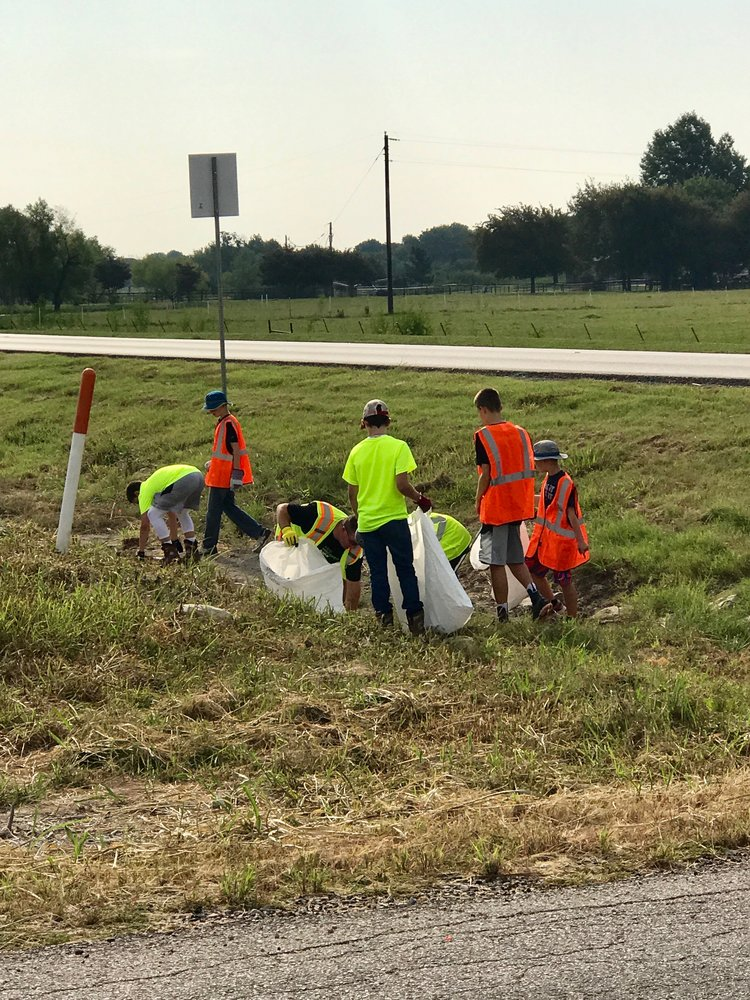 We adopted a section of the highway to clean up as part of our local efforts. We regularly host sign ups to clean the road and do our part locally to help the planet!
