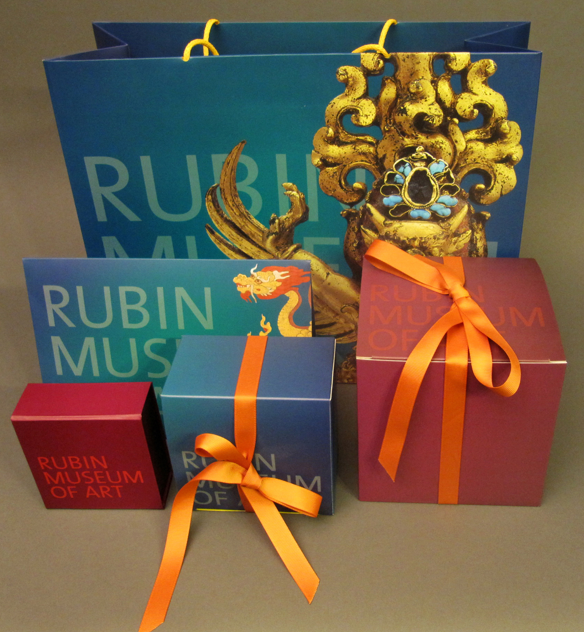 Rubin Museum of Art Packaging Program