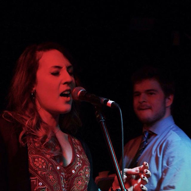 Happy Easter everyone. You have unlocked this #easteregg of Lucie and George having too much of good time while performing. #gurn #jazz #jazzy #femalesinger #band #liveshot #gig #singing #soul #sassy #ohyeah #ohyeahhh #mcr #mcruk #gottaloveit #smooth