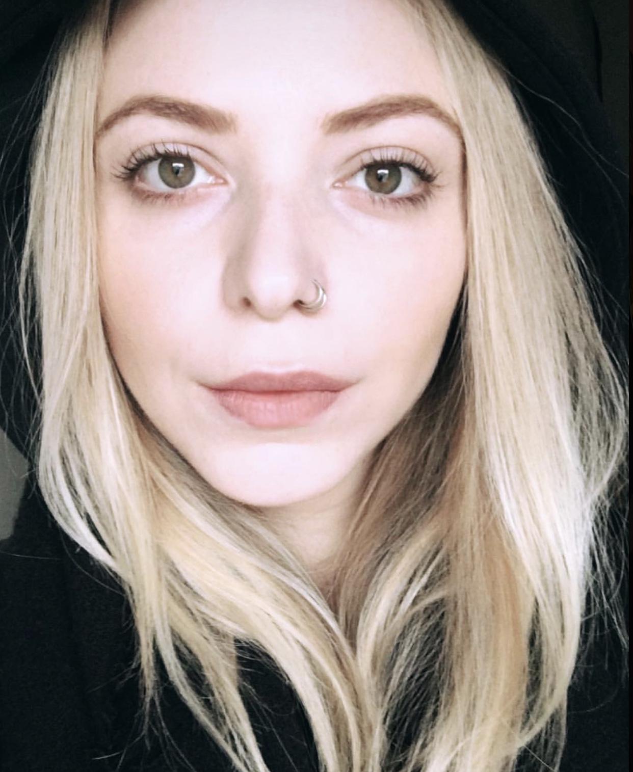Healed Natural Lip Tattoo
