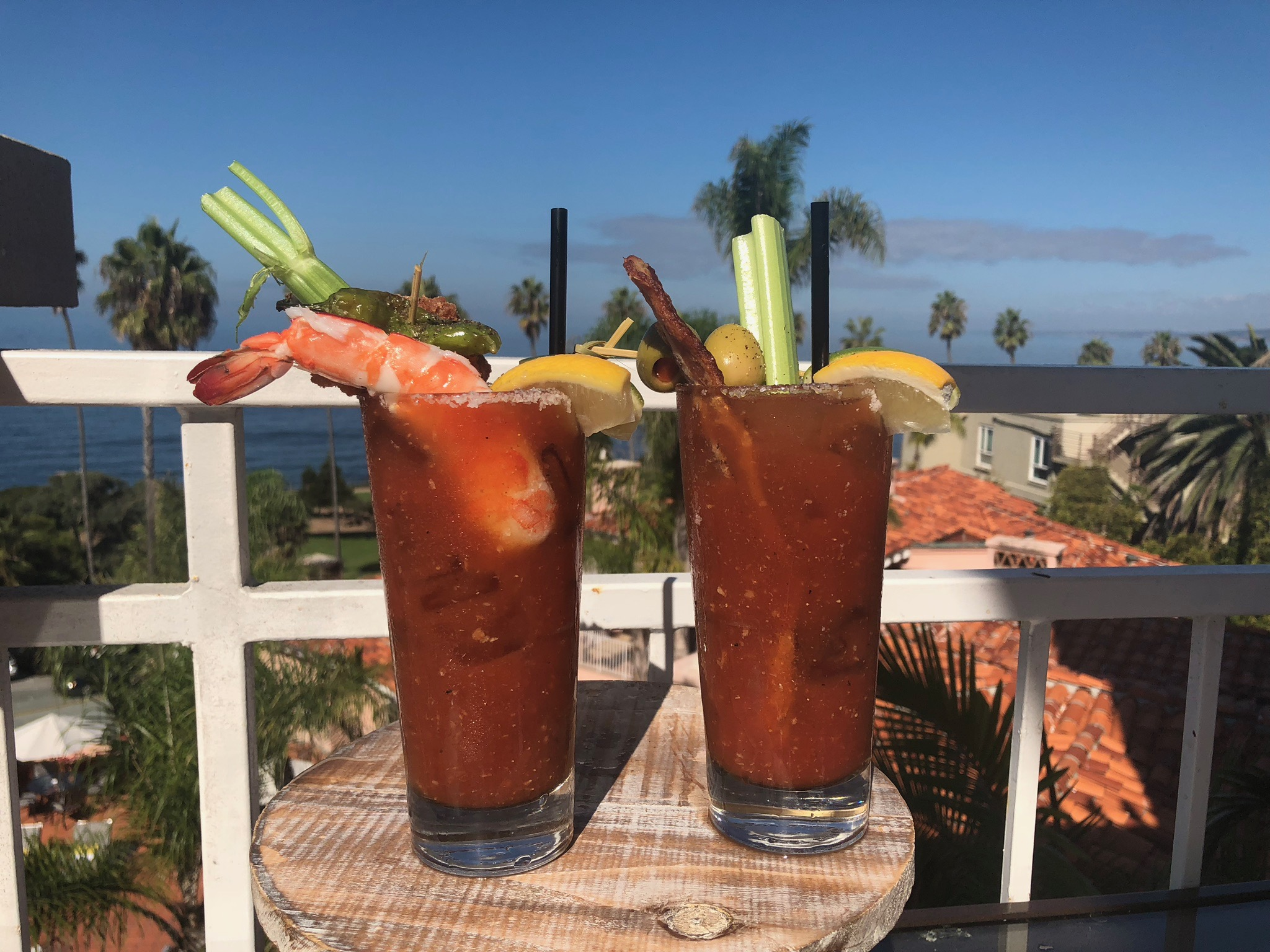 Bayou and classic bloodys with amazing ocean views