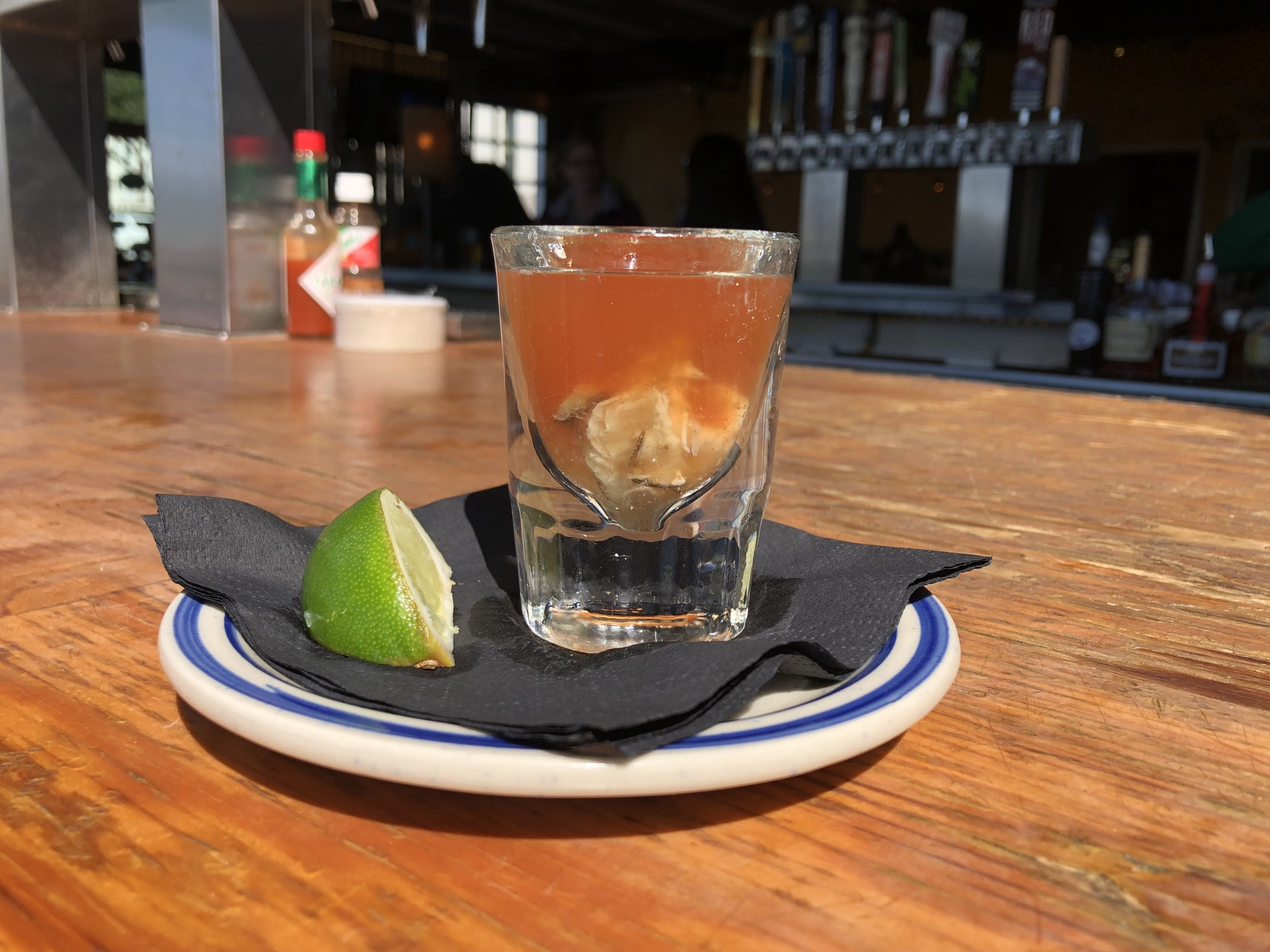 bloodymaryobsessed Bloody Mary obsessed oceanside hello Betty brunch  oyster shooter