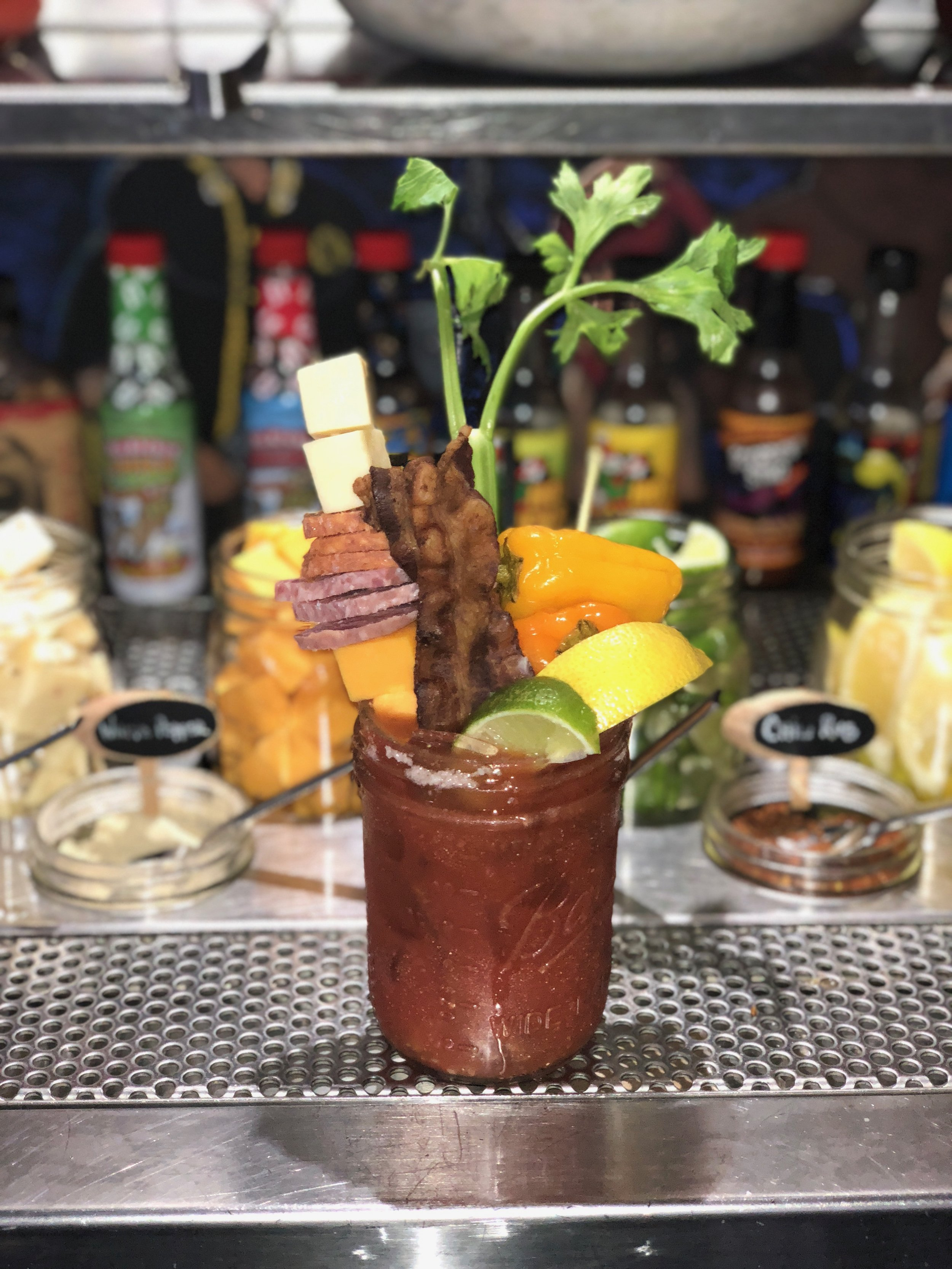 Bloody Mary obsessed Bloody Mary best build your own Bloody Mary bars San Diego