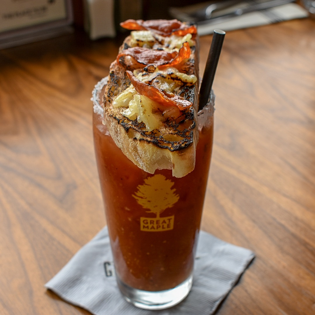 Great maple hangover Mary bloody Mary obsessed brunchfaced.jpg