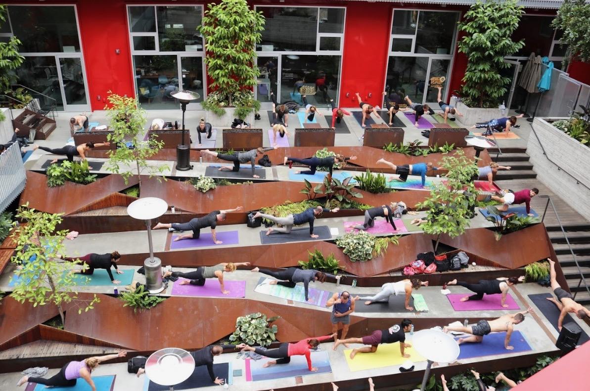Join 50 brunch lovin yogi's