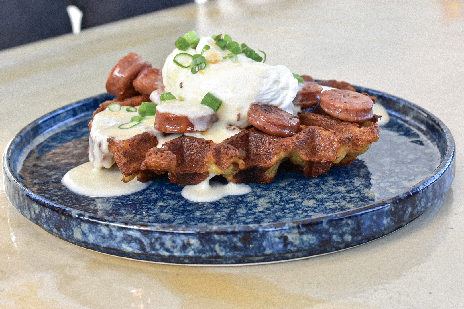 potato waffle with sausage and gravy north park breakfast company bloody mayr obsessed.jpg