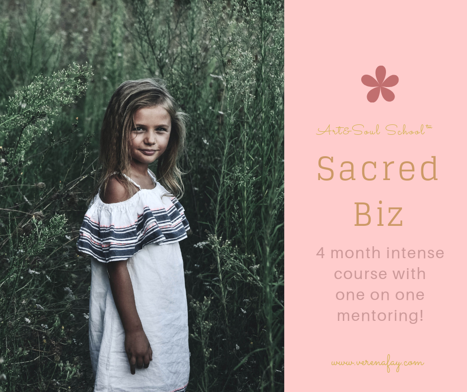"""Welcome toSACRED BIZ - This is the beta run for the uniquely crafted """"Sacred Biz"""" course! The intention is to give you space to form this course with me. I thus only invite the perfect 10 people to go on this journey with me and I hope you give me the best testimonial ever!"""