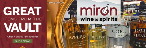 Miron Wine & Spirits   Kingston, NY