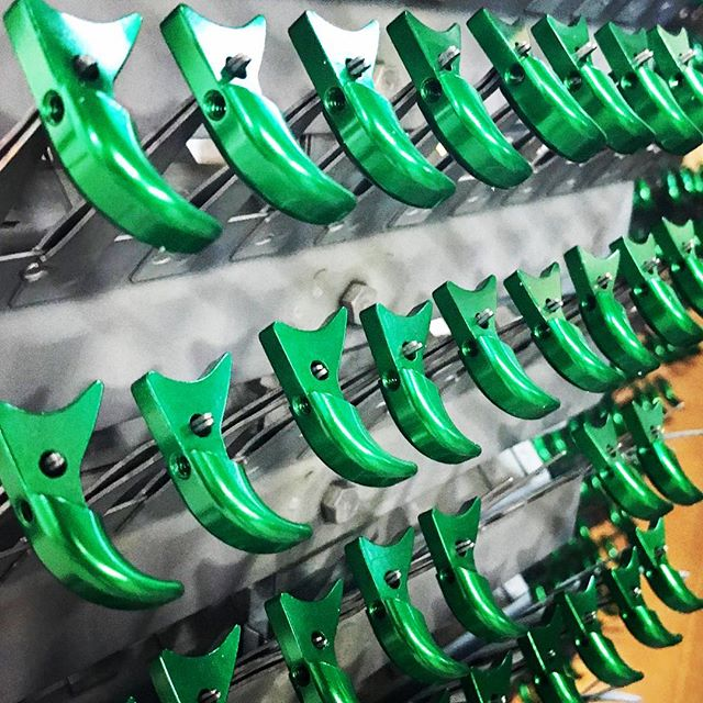 Chicago Anodizing specializes in a robust anodizing process that offers customers batch to batch consistency for color, coating thickness, lightfastness, and durability.  Contact us today to learn more about our different product offerings and trademarked finishes #anodizing #anodized #anodize #anodizedaluminum #aluminum #cnc #cncmachine #cncmachining #cncmachinist #cncowner #cncshop #cncowners #cncporn #haas #haascnc #metalfinishing #surfacefinish #productdesign #designer #chicagoanodizing #meddevice #sterrad #autoclave #autoclavesterilization #polishing #medicaldevice #medicaldevices
