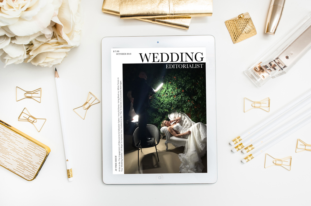 PERSONAL ISSUE:  This Features Edition of the Wedding Editorialist is dedication to Jennifer & Aaron, a beautiful couple who hosted their luxe wedding at The Mandarin Oriental Las Vegas. This issue of The Wedding Editorialist showcases their love story, along with their professional engagement photos by AtlF Photography, vendor profiles, and behind the scenes photos from the year of wedding planning, and of the wedding itself.  CLICK HERE TO READ.