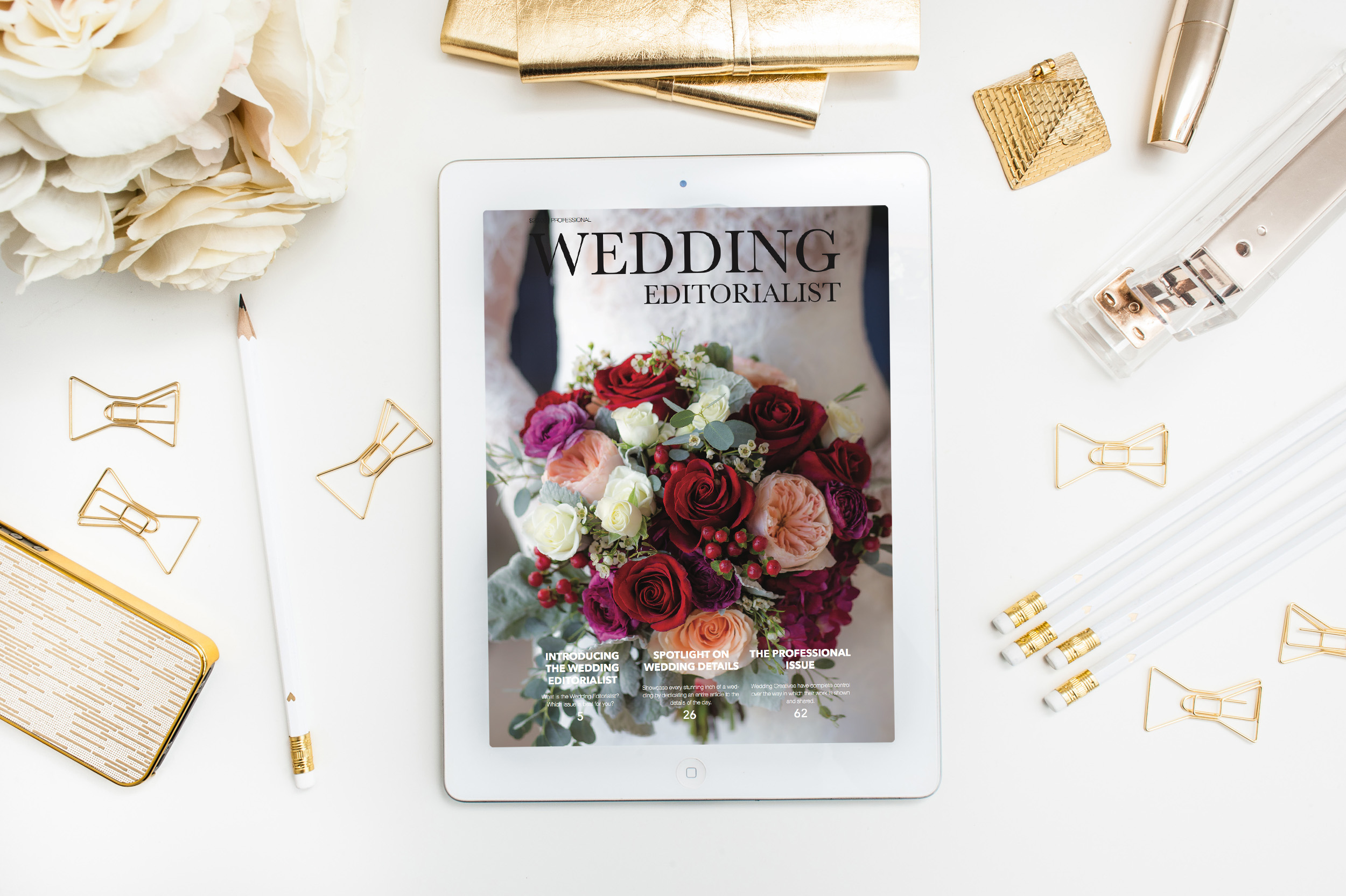 THE WEDDING EDITORIALIST:  The Wedding Editorialist is a self published wedding magazine that features one couple, wedding, or professional creative at a time. But what does that mean? How does it work? Can I see a sample? OF COURSE! This issue walks you through who we are at Wedding Editorialist, showcases the different magazines we create, and showcases sample articles. To Learn More,  CLICK HERE!