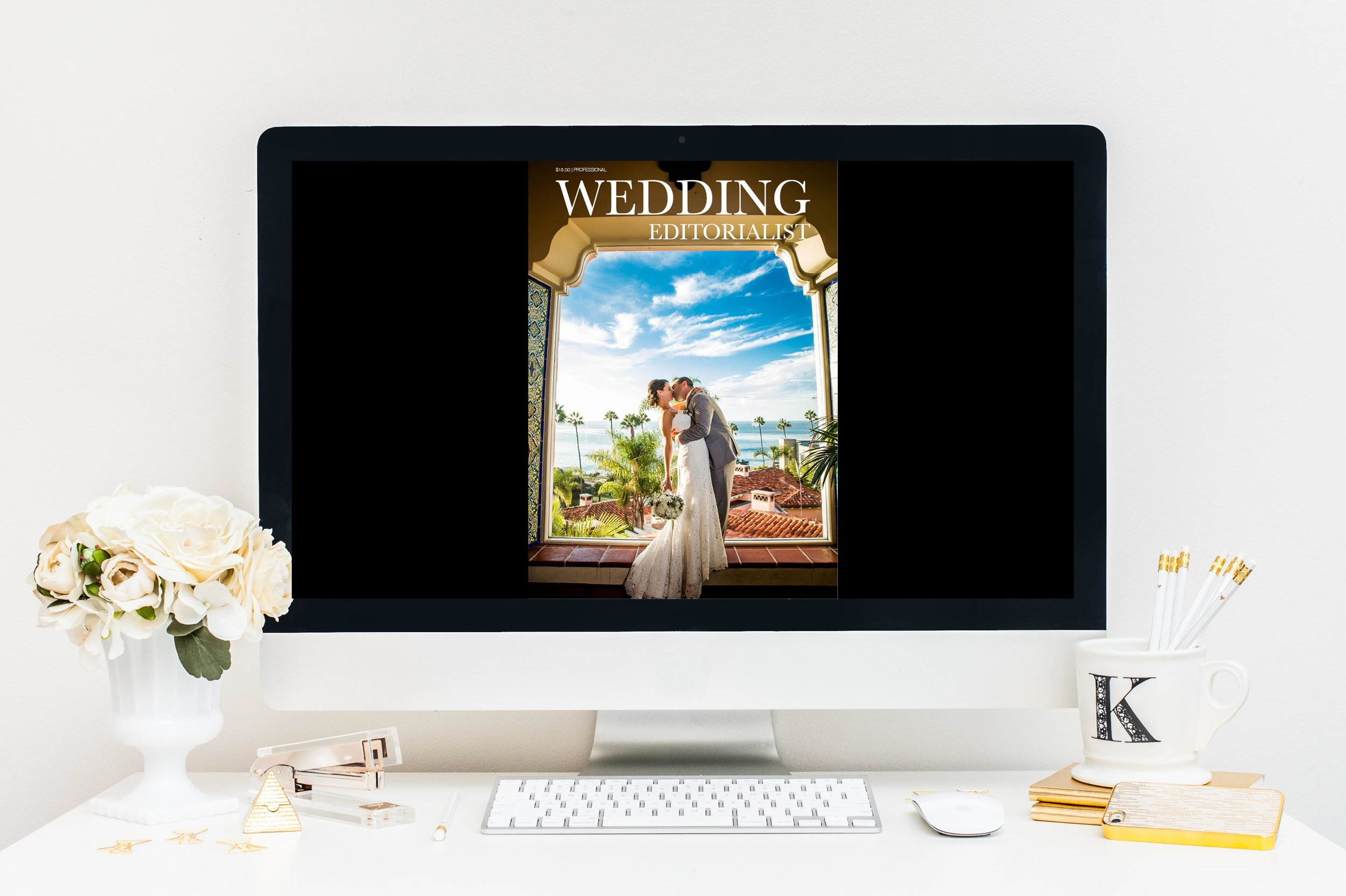 Wedding professionals love Wedding Editorialist Magazine! It allows the to showcase their work with complete control over the imagery, content, and words.
