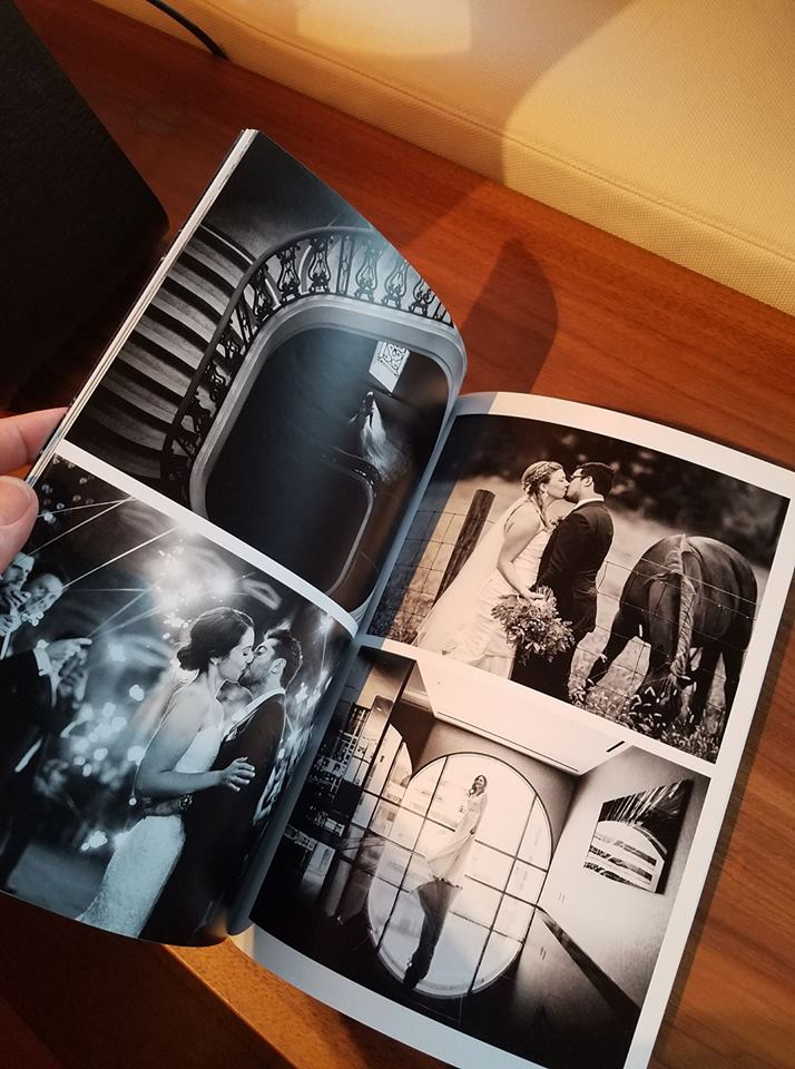 How to get your wedding published in a magazine. Printed copy of The Wedding Editorialist.