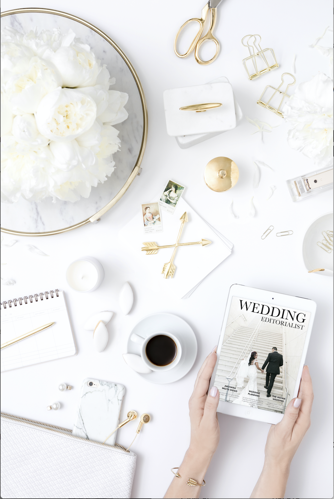 WEDDING ISSUE:  After publishing their love story in a Destination Issue, Archana and Diego upgraded their magazine to include their wedding photos as well. This issue is nowovel 80 pages, and allows our newlyweds to carry their wedding magazine wit them everyone on their phone and iPad. Thank you to our partners at J.Anne Photography, Andrea Eppolito Events, Destinations by Design, and the Mandarin Oriental for creating such an outstanding event. To read more,  CLICK HERE.