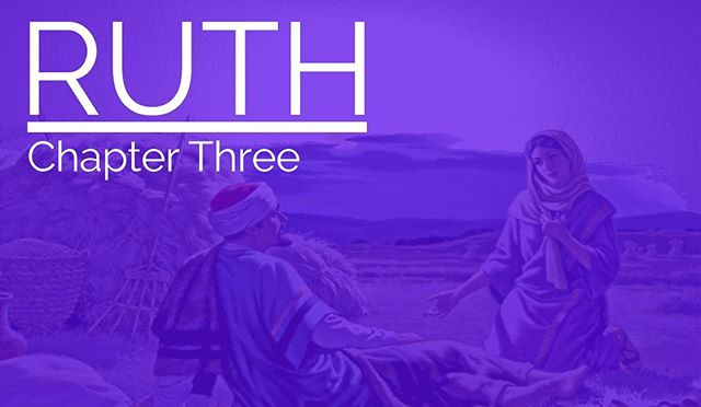 TONIGHT: we will be studying Ruth 3! We will have drinks snacks, and a lot of fun. So don't miss out and bring a friend!