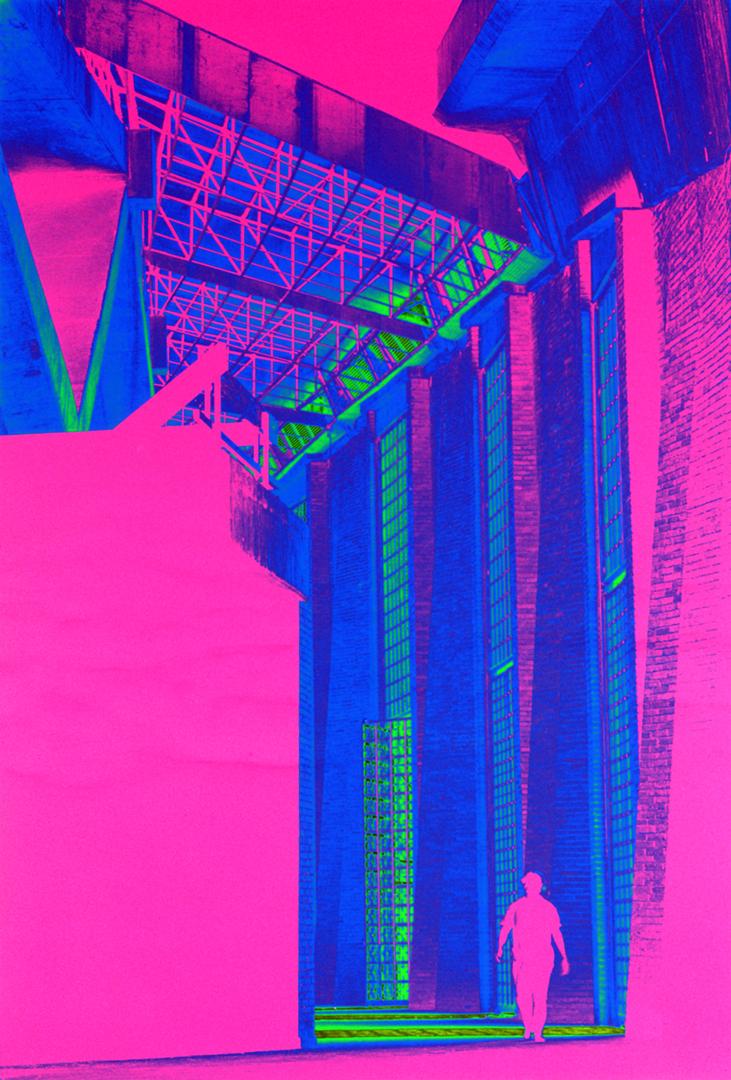 Sports Palace Construction. Mexico City.