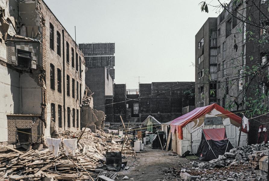 Mexico City, October 1985