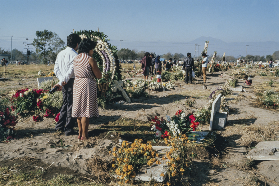 Victims burial
