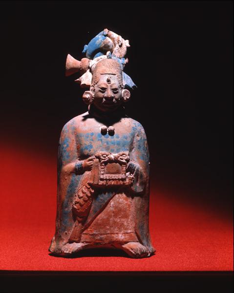 Jaina clay figure