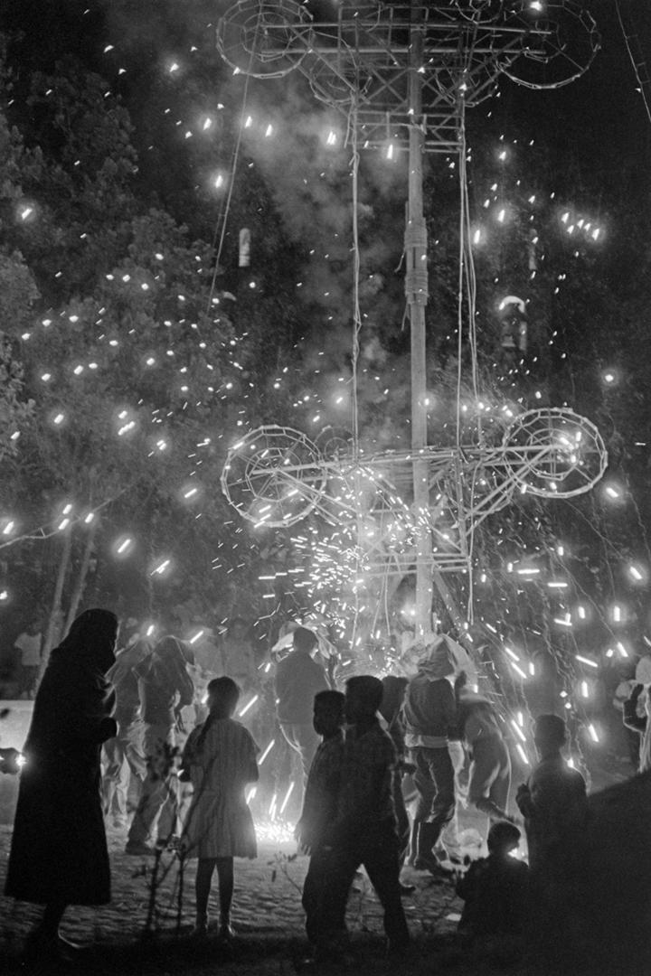 Fireworks at Barrio de La Conchita