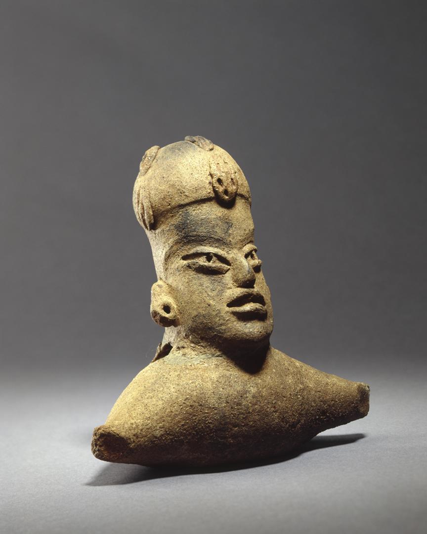 Zapotec clay figure